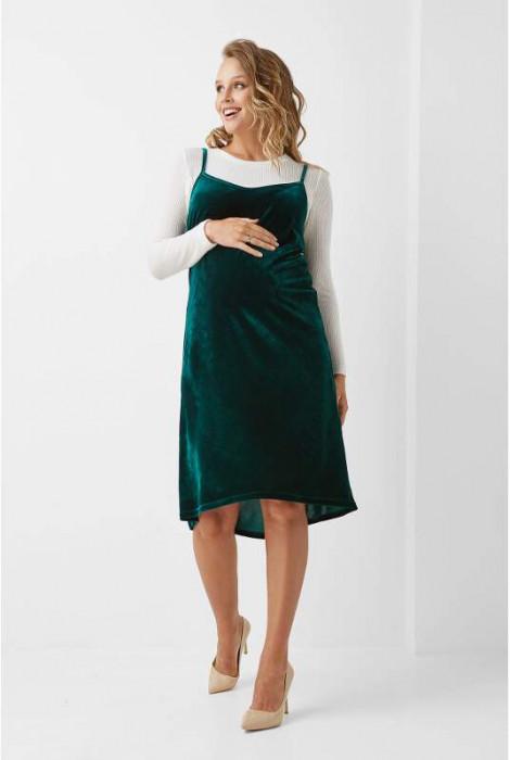 Сукня для вагітних арт. 1969 0000, смарагдовий