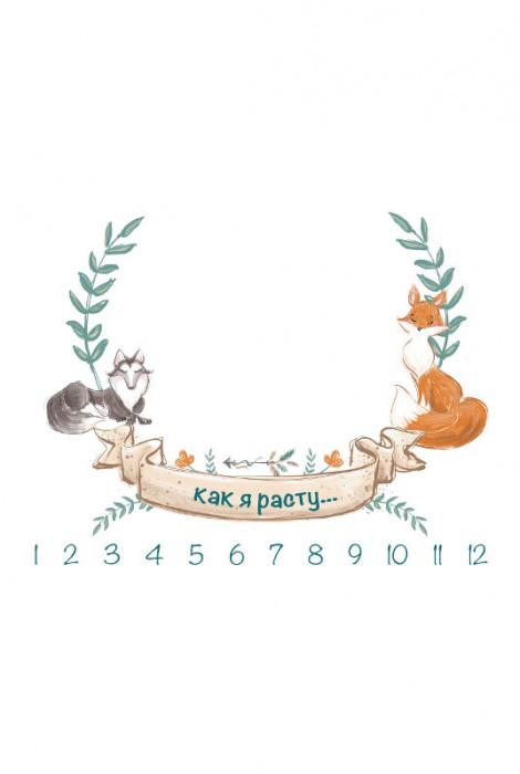 Муслінова фото пелюшка, Бохо з лисичкою