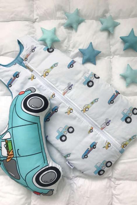 Спальник для малюка, Машинки