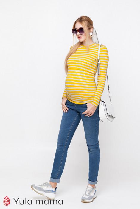 Джинси для вагітних Patty, темно-блакитний з потертостями