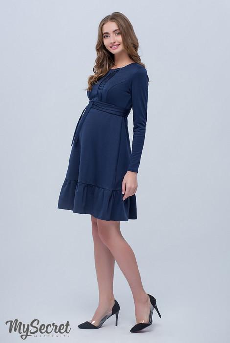 Сукня для вагітних і годування Michelle темно-синій