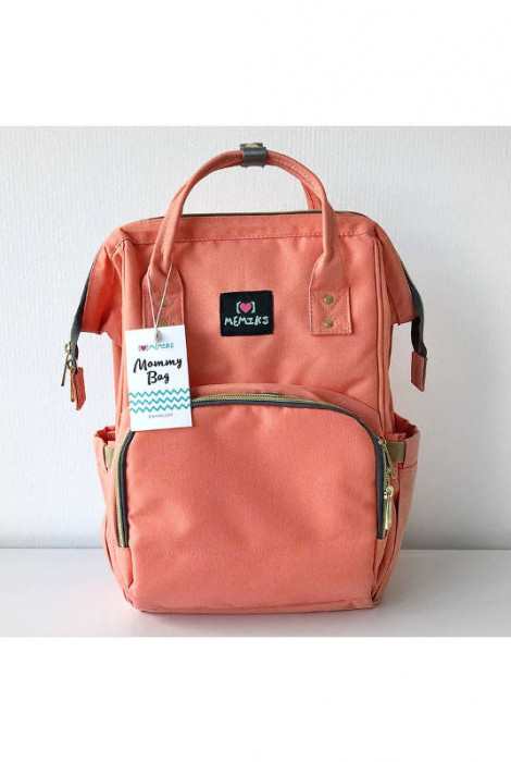 Сумка-рюкзак для мам Троянда