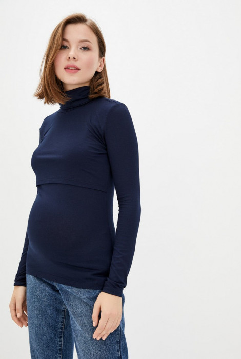 Гольф для вагітних і годування, Темно-синій