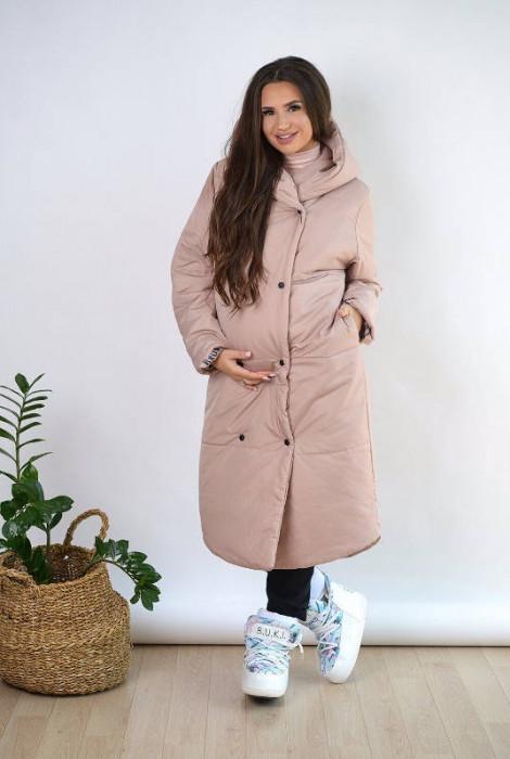 Куртка для вагітних арт. 2734274, суха троянда