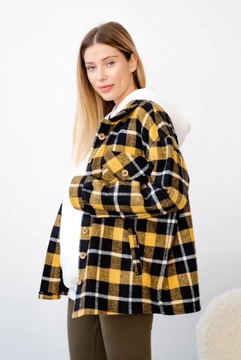 Сорочка 4368222 для вагітних, жовтий