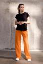Штани 4353114-4 для вагітних, помаранчевий