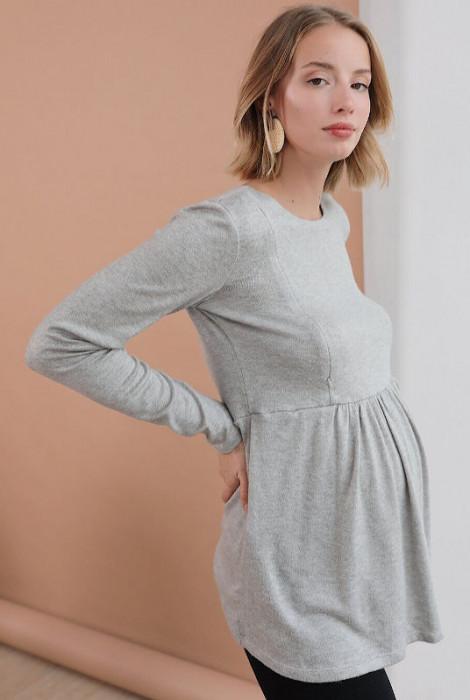 Туніка для вагітних і годування арт.4046050, сірий