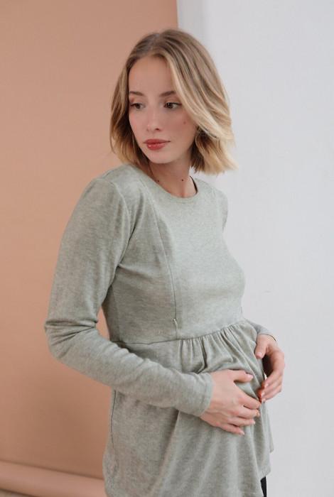 Туніка для вагітних і годування арт.4046050, оливковий