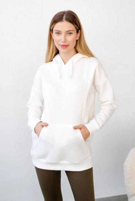 Джемпер 4197115 для вагітних та годування, білий
