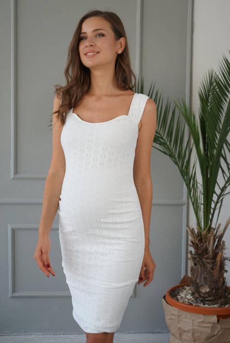 Сукня для вагітних арт. 4252077, білий