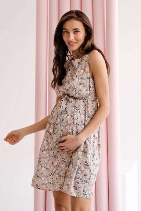 Сукня для вагітних та годування арт. 4180725, теплий пісок