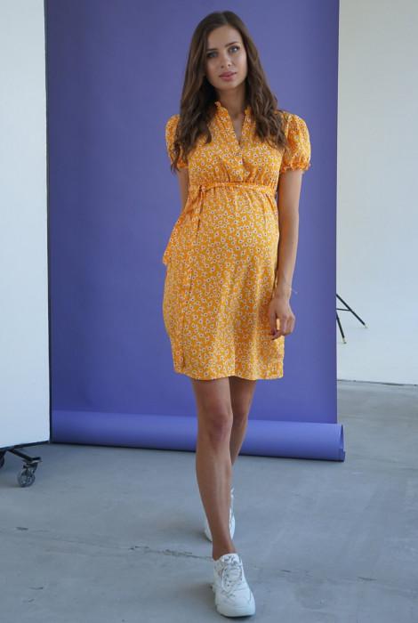 Сукня для вагітних та годування арт. 4245726, жовтий