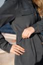 Сукня 4273756 для вагітних та годування, синьо-зелений