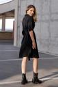 Сукня 4273756 для вагітних та годування, чорний