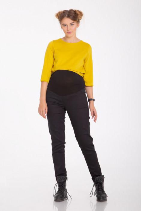 Штани для вагітних Dots  jeans, чорний