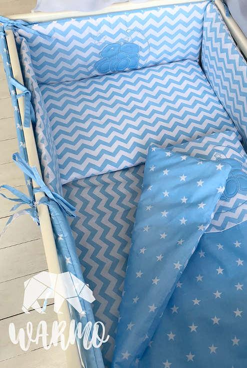 ... Набір в дитяче ліжко із 8 предметів b7efa77bacc91